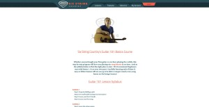 Six String Country Guitar 101 Basics Course